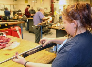 Trinidad State Gunsmithing Classroom. Photo Credit: trinidadstate.edu