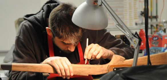 Gunsmithing subjects to tranfer from a college to a university