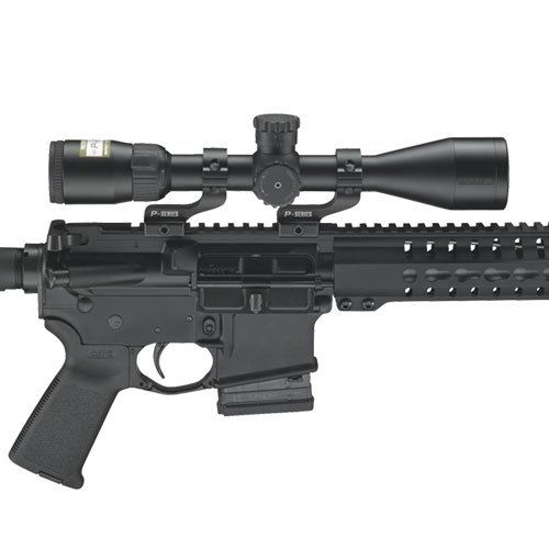AR15 Scope in white background