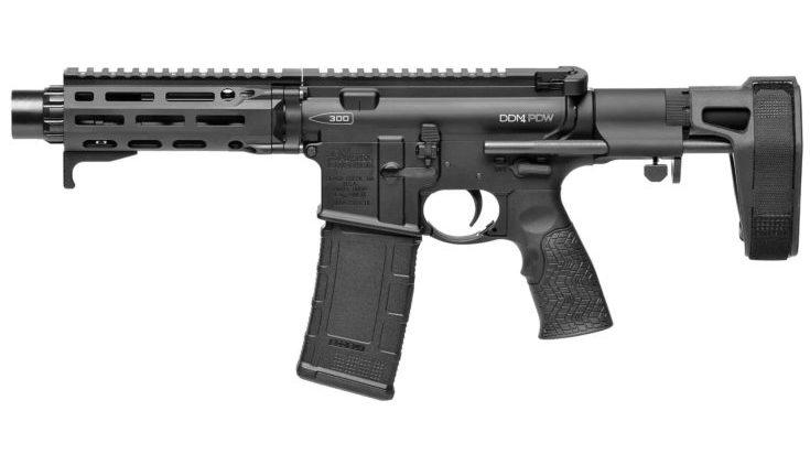 DANIEL DEFENSE - DDM4 PDW Pistol 300 Blackout 7 W/PSB