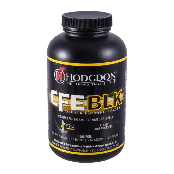 HODGDON POWDER CO., INC. - CFE BLK SMOKELESS RIFLE POWDER