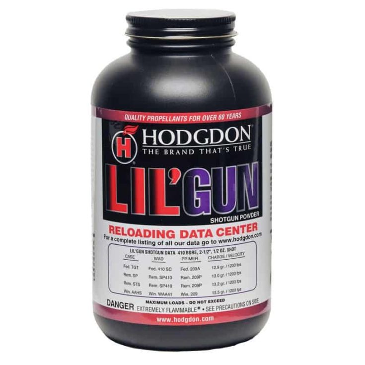 HODGDON POWDER CO., INC. - HODGDON LIL' GUN POWDER in a bottle