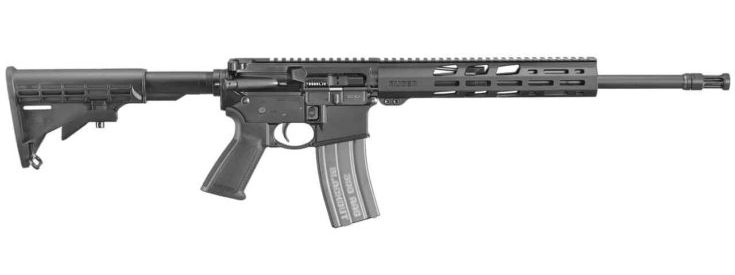 RUGER - AR-556 300 BLACKOUT FREEFLOAT HG