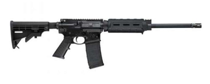 SMITH & WESSON - M&P15 300 WHISPER 16IN 300 AAC BLACKOUT MATTE BLACK 30+1RD
