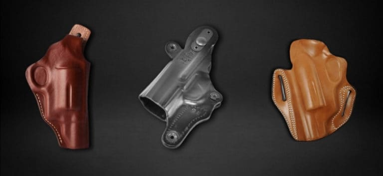 Holster for Taurus Judge in black background