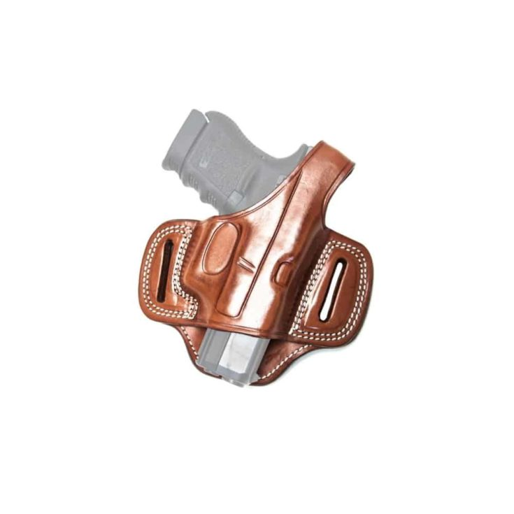 Cebeci Arms Leather Pancake Holster Open Muzzle for Taurus 20917