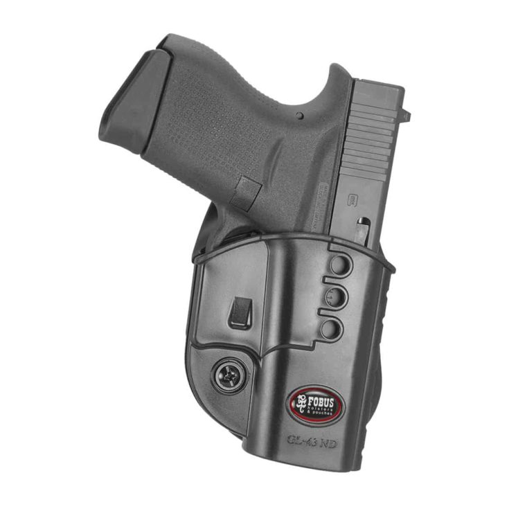FOBUS HOLSTER - EVOLUTION HOLSTER RIGHT HAND PADDLE