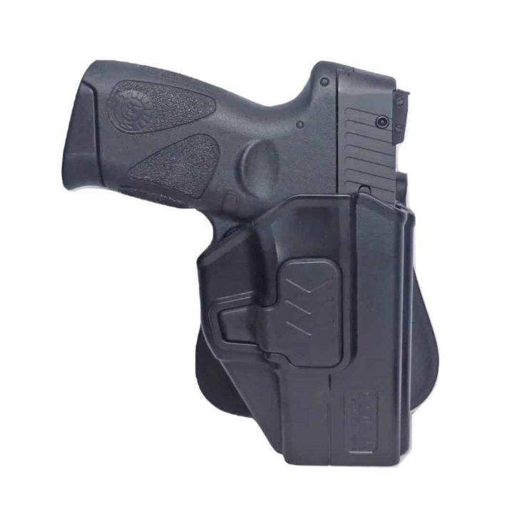 Tactical Scorpion Gear Slimline Modular Level II Retention Paddle Holster: fits Taurus Millennium G2 PT111 PT132 PT138 PT140 PT145 PT745 G2c
