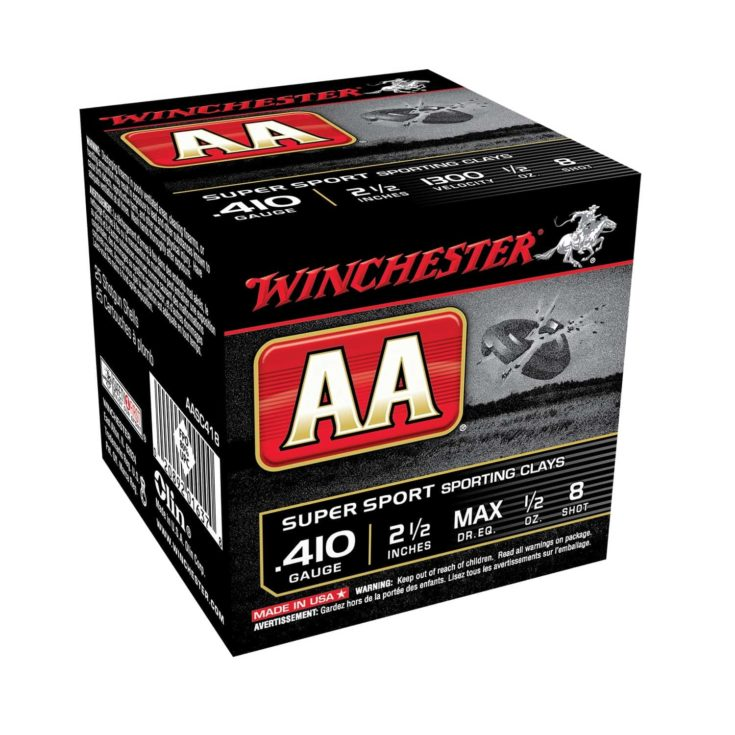 WINCHESTER - AA SUPERSPORT AMMO 410 BORE 2-1/2 1/2 OZ #7.5 SHOT